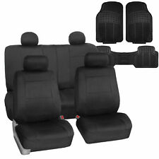 Neoprene Car Seat Covers Black For Auto Suv Car With Floor Mats Fits Jeep Cherokee