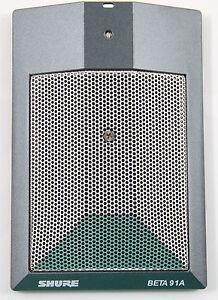 New-Shure-BETA-91A-Kick-Drum-Condenser-Boundary-Mic-Authorized-Dealer