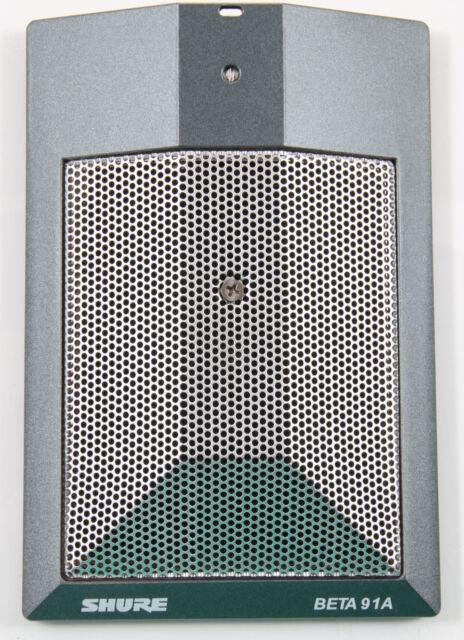 New Shure BETA 91A Kick Drum Condenser Boundary Mic Authorized Dealer!!