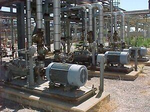 byron jackson flowserve dvmx 3 x 4 x 9a 8 stage pump with motor ebay rh ebay com byron jackson pump manual hsb Byron Jackson Pump Division