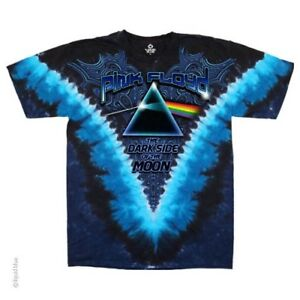 New PINK FLOYD Blue Dark Side Of The Moon T Shirt