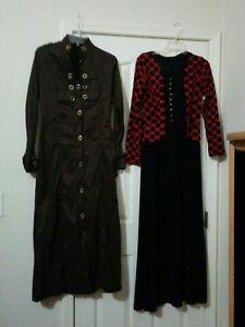 Womans-Clothing-Bundle-Mixed-Lot-of-2-Pieces-dress-Size-40-light-jacket-Size-43