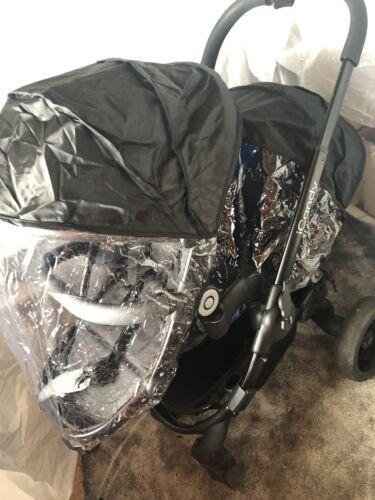 1 x Twin Seat Raincover nouveau ICandy Peach 2-housses 1 x principal Siège Couverture