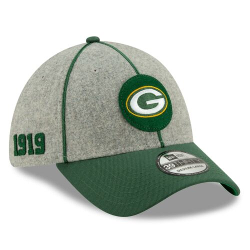 New Era Green Bay Packers 2019 Official Home Sideline 1920-25 39THIRTY Cap