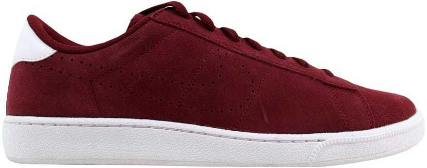 Nike Tennis Classic CS Suede Team Red Team Red-White 829351-601 Men's SZ 10.5