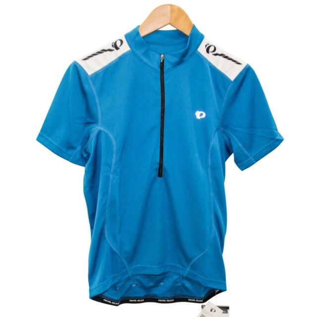 Pearl Izumi Cycling Jersey Men Quest Blue Bicycle Gear Bike Top S ... a67af3d1b
