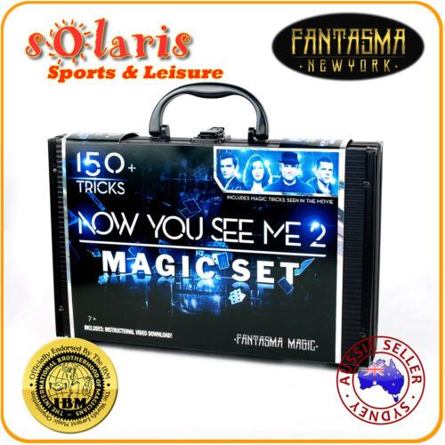 Fantasma Magic's NOW YOU SEE ME 2 Special Movie Edition Magic Kit 150+ Tricks
