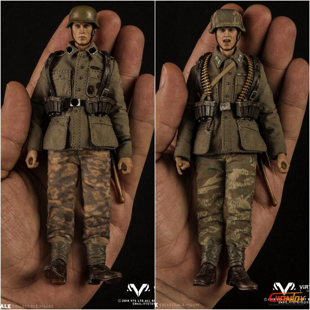 Orden previa VG001 VG002 VTS TOYS 1 12 Pocket Elite Segunda Guerra Mundial Alemania 6IN Figura De Acción
