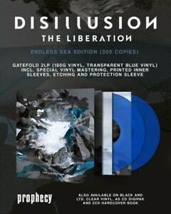 DISILLUSION-THE-LIBERATION-LIMITED-2-VINYL-LP-NEU