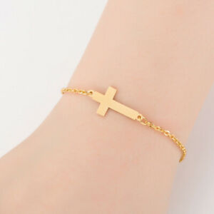 Eelgant-Jewelry-Women-Hand-Chain-Delicate-Chain-Simple-Bracelet-with-Cross-JA