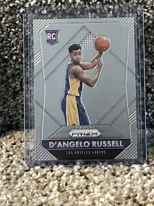 2015-16 Panini Prizm D'Angelo Russell Base Rookie Card RC #322