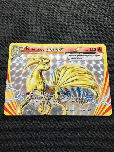 Pokemon XY EVOLUTIONS NINETALES BREAK 16//108 RARE BREAK