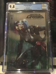 Heroes-in-Crisis-1-CGC-9-8-Mattina-Harley-Quinn-NYCC-Silver-Foil-Variant