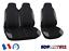 Renault-Trafic-Housses-Couvre-Sieges-Fabric-2-1-Gris-Noir miniature 1