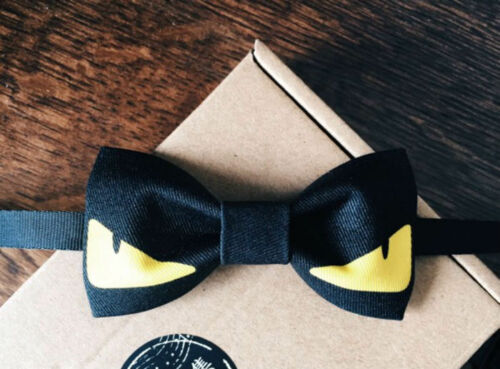 DEVIL EYE BLACK Color Cool Design BOW TIE Nice Gift Good For Causal Party Use