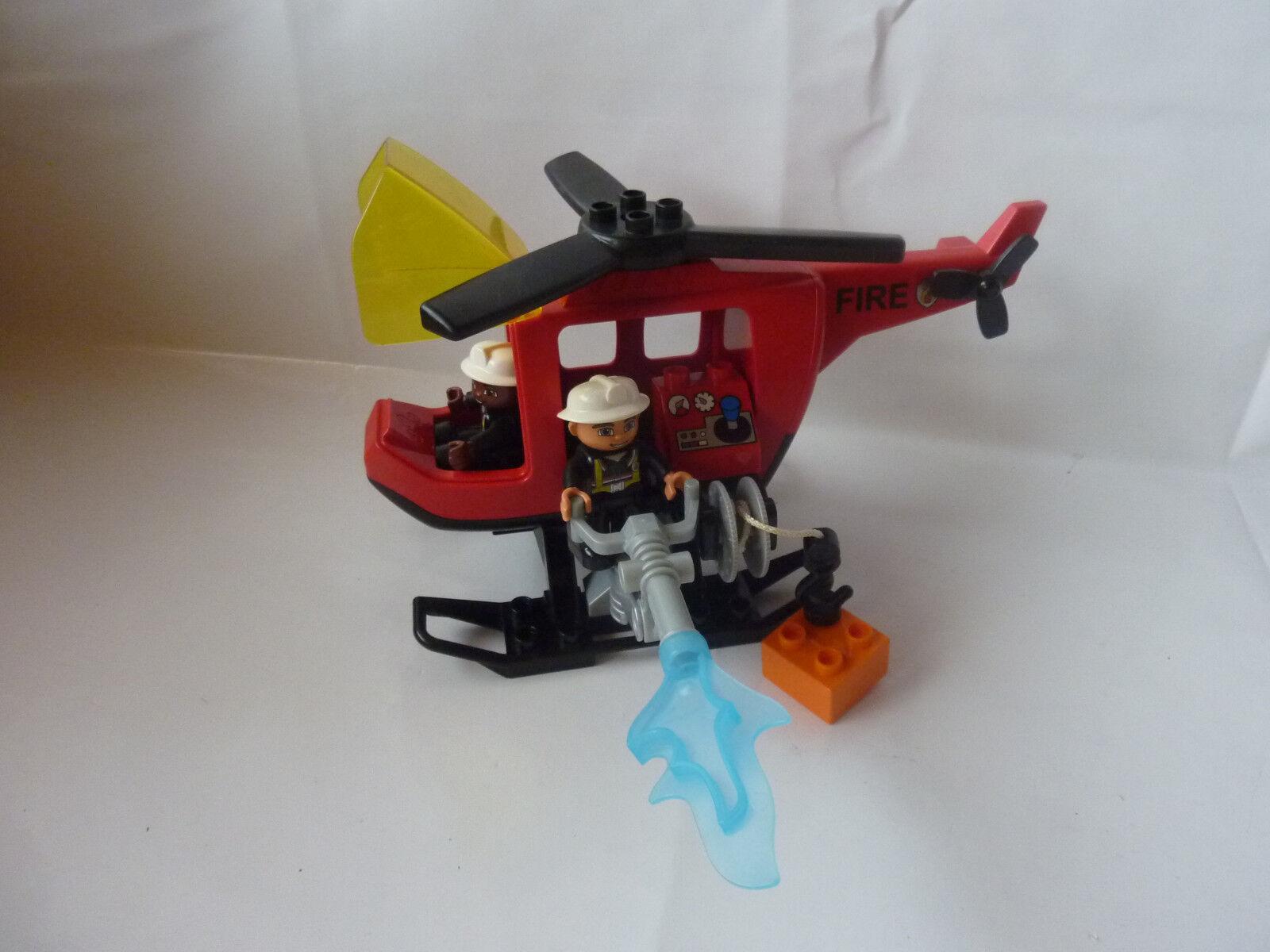 Lego DUPLO Pompiers Hélicoptère-Heli-Hélicoptère-Set 4967-TOP