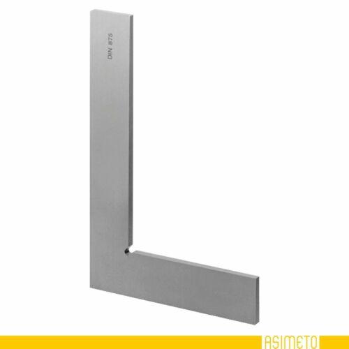 Präzisions Stahlwinkel ohne Anschlag Werkstattwinkel 400x265mm Güte 1 gehärtet