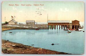 Nahant-Massachusetts-Eastern-Point-Harbor-Boat-Landing-Life-Savings-Station-1908