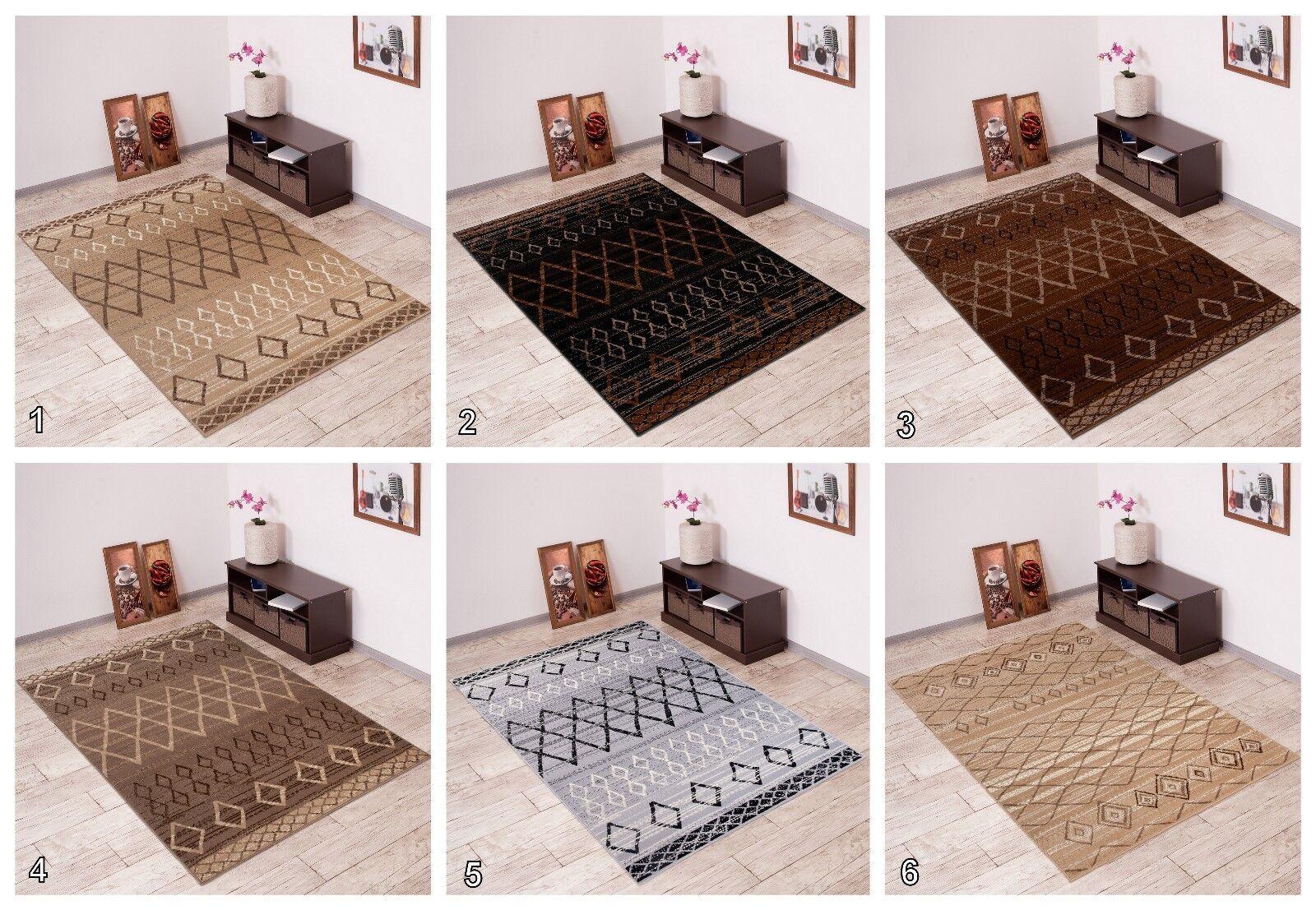 Moderno Tappeti Per Camera da letto salotto Fantasia Tribale durevole Pavimento Tappeto