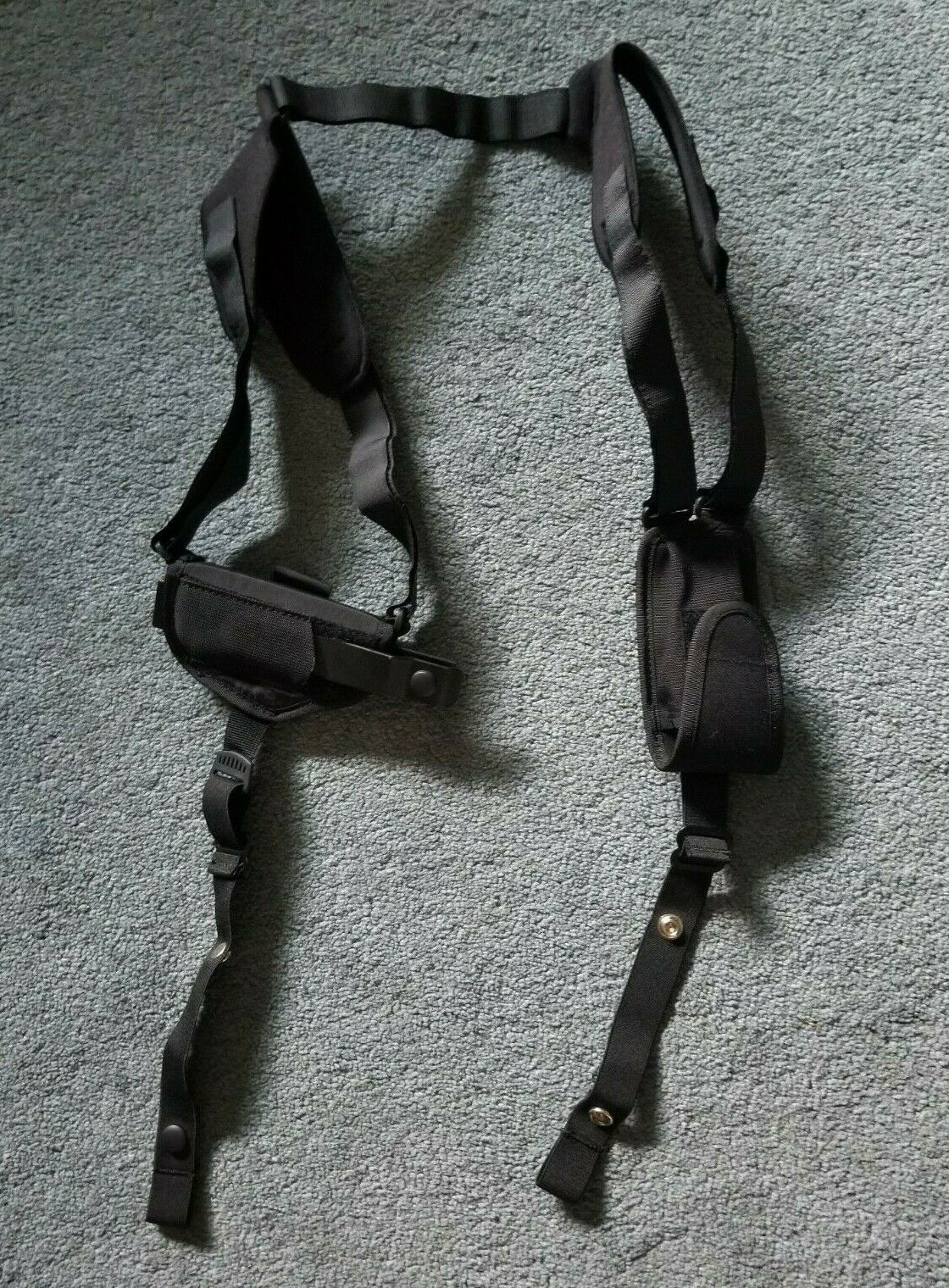 Uncle Mike/'s Unc77010 ProPak Size 1 Ambi Horizontal Shoulder Holster for sale online