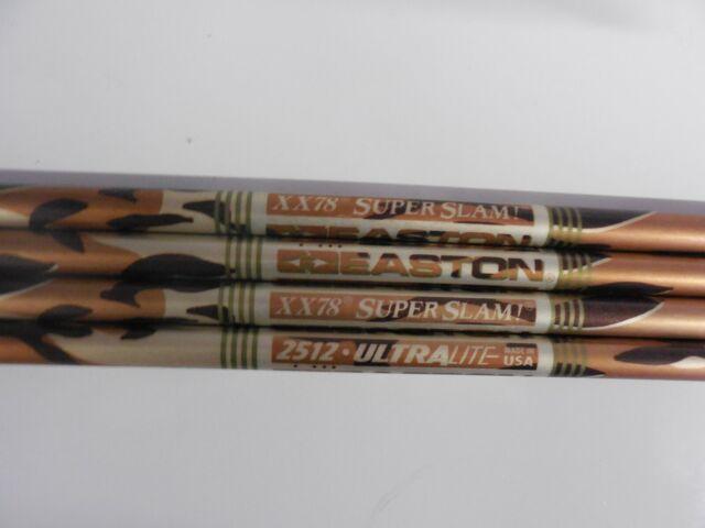 2016 2216 or 2219 Easton Legacy XX75 Aluminum Arrow Shafts 1916 2018 2117