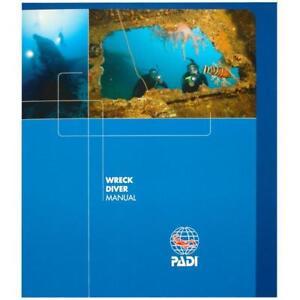 Padi-Specialty-Wreck-Diver-Manual-Scuba-Diving-Book-Scuba-Diver