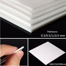 1pc 3mm New 150mmx150mmx3mm PTFE F4 Sheet Plate White Engineering Plastic