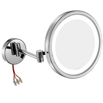 Gurun 10 Quot Wall Chrome Lighted Makeup Mirror 10x 7x 5x