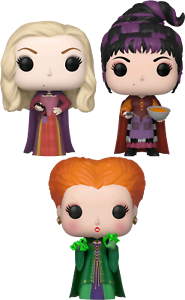 FUNKO POP  Hocus Pocus (1993) - The Sanderson Sisters ( SET OF 3)