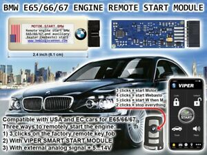 Bmw Remote Start >> Details About Bmw E65 E66 745i 745li 750li 760li Custom Remote Start Module 1st In The World