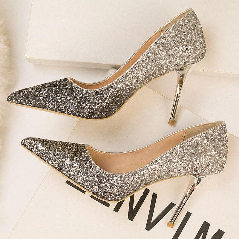 zapatos decolte eleganti stiletto 10 10 10 plata negro strass comodi simil pelle 1565  ofrecemos varias marcas famosas