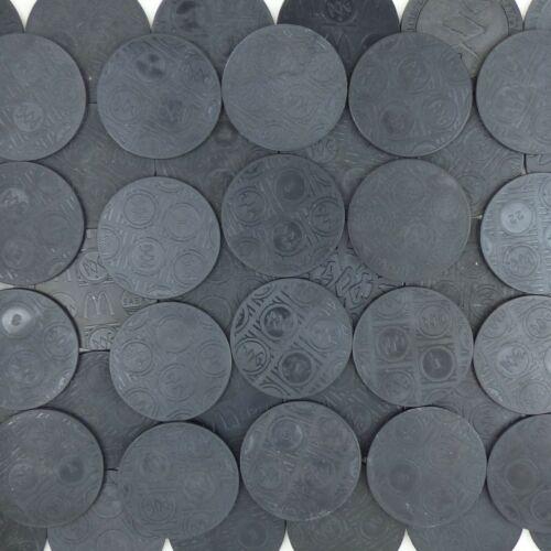 Lot of 10 Plastic POG Slammers Kini The World Pog Federation WPF RANDOMLY PICKED