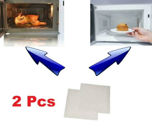 2x High Quality Universal Microwave Oven Mica Sheet Wave Guide Cover Plates Hot