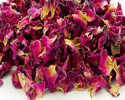 Dried Pink Rose Buds Cake Decor Tea Candle Crafts Garnishes Wedding Confetti