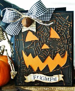 Sizzix Bigz Candlelight Fright die #657456 Retail $19.99 AWESOME Tim Holtz!!