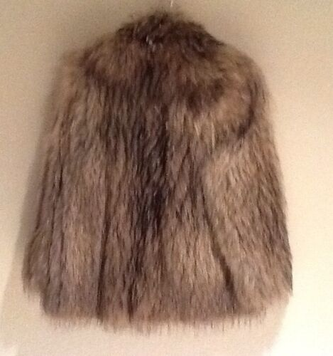 New 100 Coat Fur Racoon Ladies 8 Brand 6CqwdxC