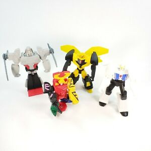 McDonald's Happy Meal Toy Lot of 3 Transformers and 1 Power Ranger Samurai!