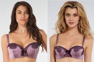 92d898f429056 Bnwt La Senza 32A 32C 34B 34C 36A 36FF 38B Purple Silk   Lace ...