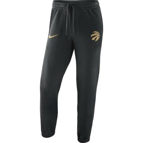 Nike Men/'s NBA Toronto Raptors City Edition Club Pantalon-Small-noir-Neuf