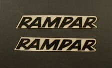 Raleigh RAMPAR Stickers NOS Black/Gold bicycle bike