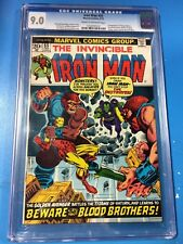Iron Man #55 1973 CGC 9.0 1st Appearance Thanos & Drax