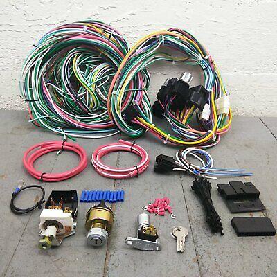 interior 1946-80 dodge w truck main wiring harness headlight switch kit la  5.7l 383 bbwdx automotive  han kjøbenhavn