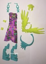 Monster High Ghouls Getaway Jane Boolittle Doll Outfit Clothes Dress & Shoes NEW