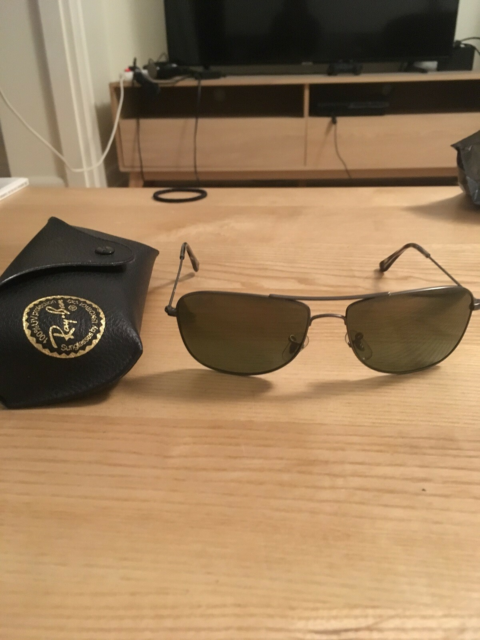 Solbriller herre, Ray Ban, Ray Ban Aviator solbriller.…