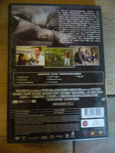 The Happening, DVD, thriller
