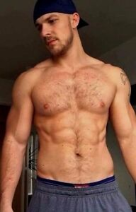 Hairy masculine