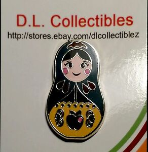 Disney-Snow-White-amp-The-Seven-Drawfs-Nesting-Dolls-Mystery-Snow-White-Pin