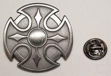 Keltenschild Kelten Schild Alchemie Skull Gothik l Anstecker  Abzeichen l Pin 50