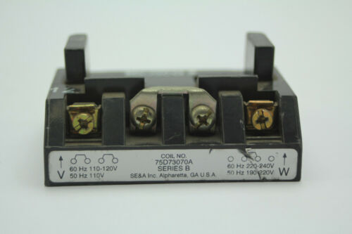 SE/&A 75D73070A SER B Magnetic Coil Used