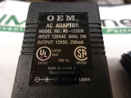 BRAND NEW! AD-1220M AC Adapter OEM